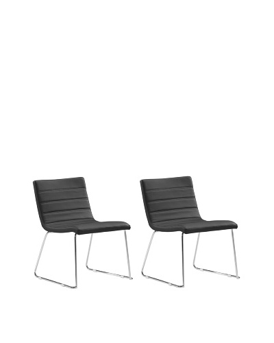 Zuo Set of 2 Tag Dining Chairs