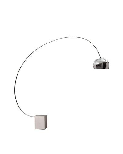 Zuo Gravity Floor Lamp, Chrome