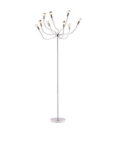 Zuo Stellar Floor Lamp, Chrome