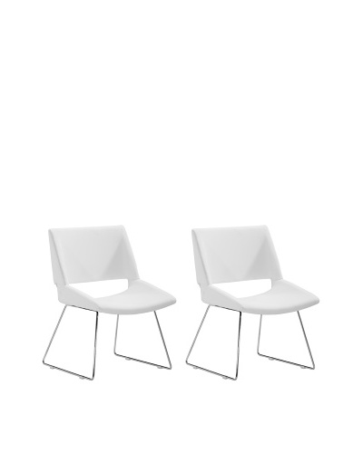 Zuo Set of 2 Von Dining Chairs