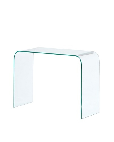 Zuo Mecca Console Table, Clear