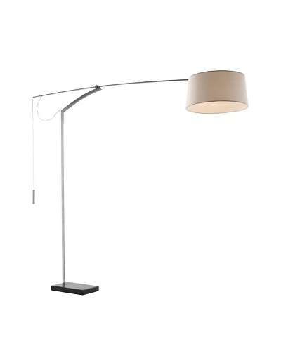 Zuo Blazar Floor Lamp, Chrome