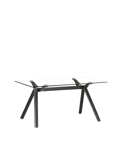 Zuo Vex Dining Table, Black