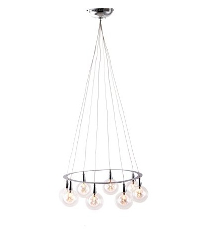 Zuo Radial Ceiling Lamp, Chrome