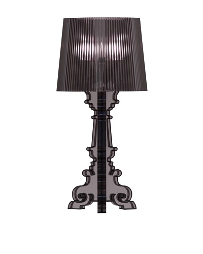 Zuo Salon S Table Lamp, Translucent Black