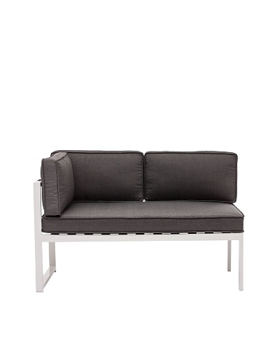 Zuo Outdoor Golden Beach Left-Side Chaise, Grey