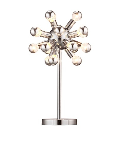 Zuo Pulsar Table Lamp, Chrome