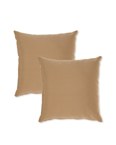 Zuo Set of 2 Laguna Outdoor Pillows [Sand]