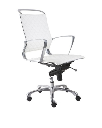 Zuo Jackson Office Chair, White