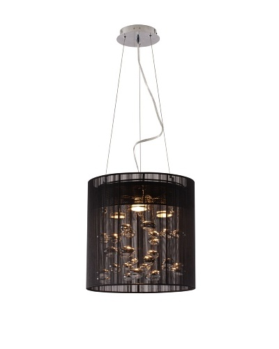 Zuo Subatomic Ceiling Lamp, Black