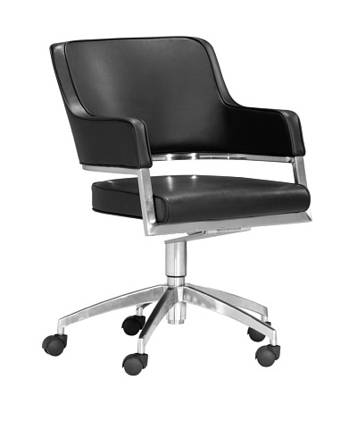 Zuo Performance Office Chair, Black