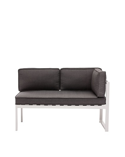 Zuo Outdoor Golden Beach Right-Side Chaise, Grey