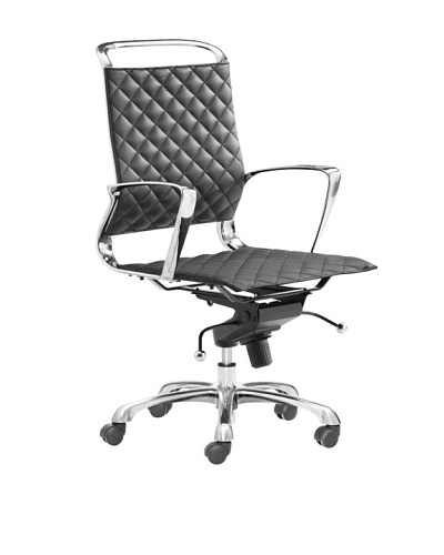 Zuo Jackson Office Chair, Black