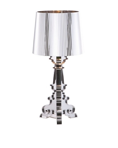 Zuo Salon S Table Lamp, Chrome