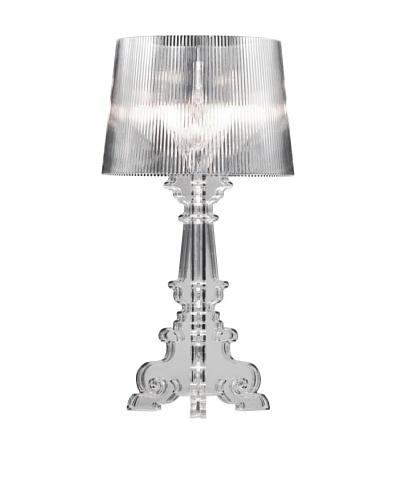 Zuo Salon L Table Lamp, Clear