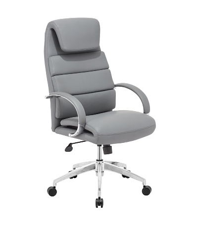 Zuo Lider Comfort Office Chair, Gray