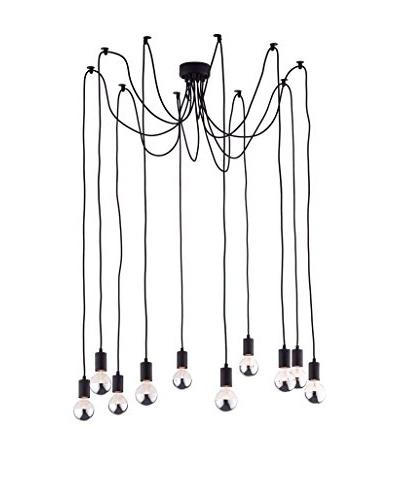 Zuo Fog Ceiling Lamp, Black