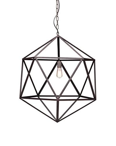 Zuo Amethyst Ceiling Lamp, Rust