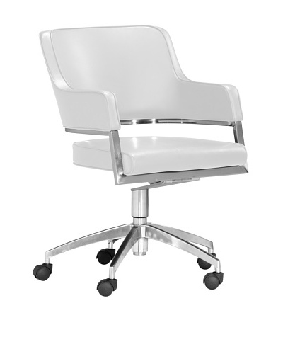 Zuo Performance Office Chair, White