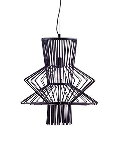 Zuo Tornado Ceiling Lamp, Black