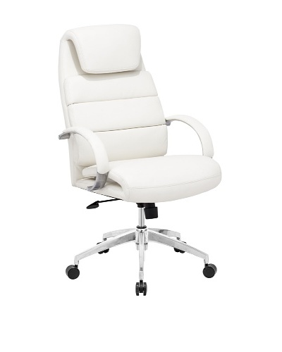 Zuo Lider Comfort Office Chair, White