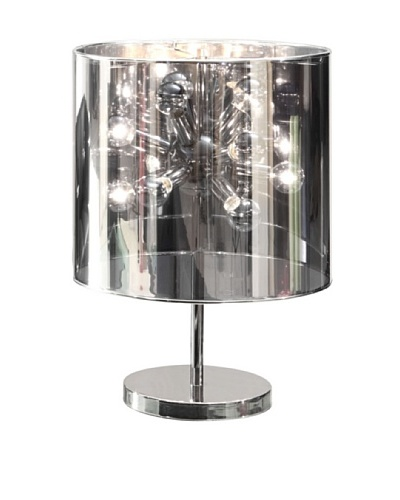 Zuo Supernova Table Lamp, Chrome