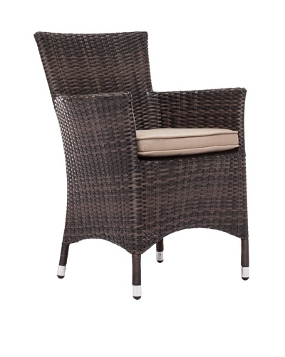 Zuo Outdoor South Bay Chair, Brown