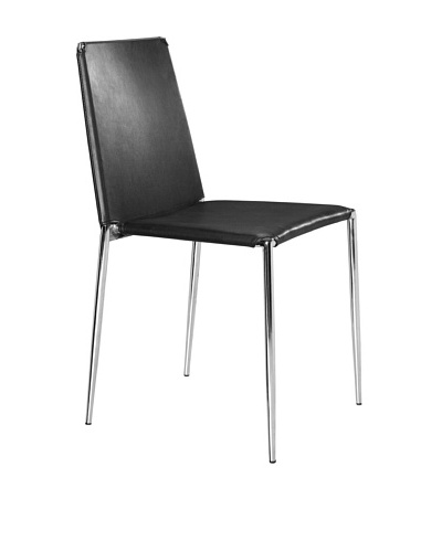Zuo Modern Set of 4 Alex Dining Chairs